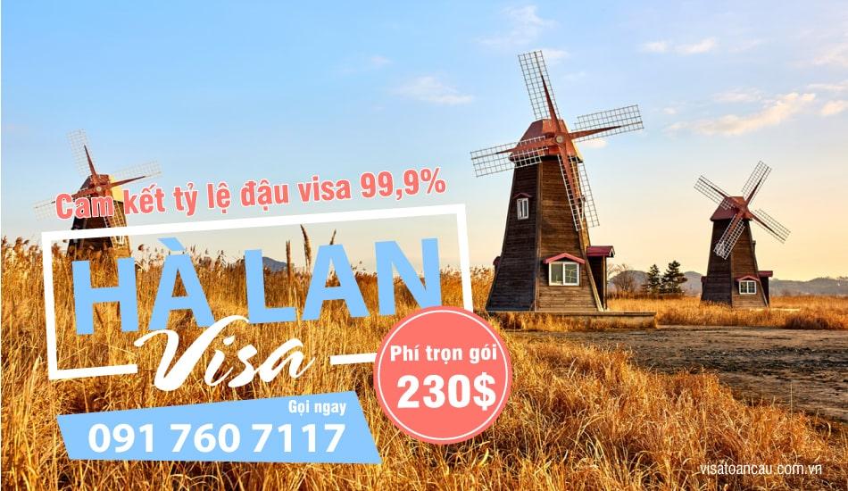 dịch vụ làm visa Hà Lan