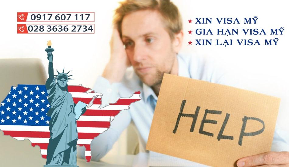 hồ sơ xin gia hạn visa mỹ
