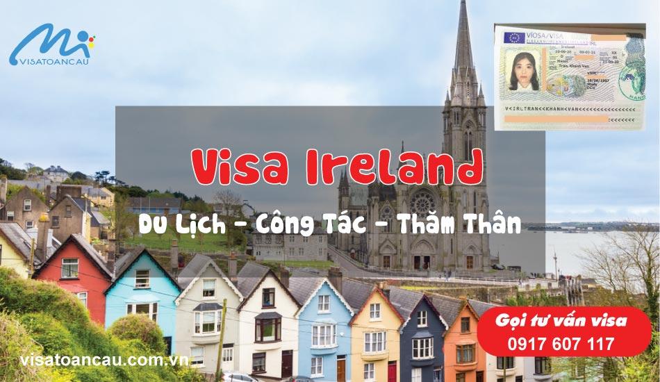 dịch vụ làm visa ireland